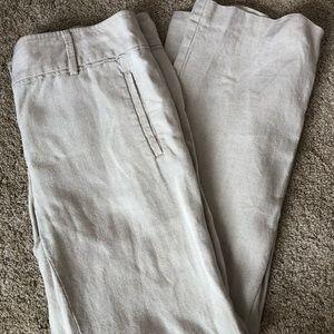 LOFT Marisa Linen Trouser Pant